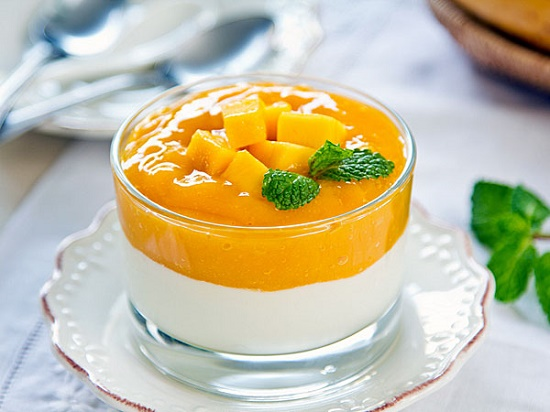 Thumbnail for the post titled: Resep Puding Mangga Lapis